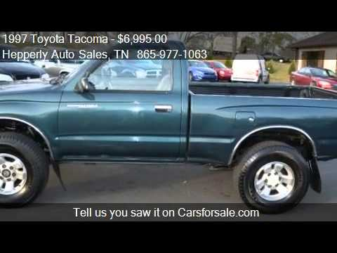 1997 Toyota Tacoma Regular Cab 4wd For Sale In Maryville Youtube Rh Youtube  Com 1997 Toyota