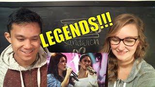 Sarah Geronimo & Regine Velasquez - A Star Is Born Hits Medley REACTION