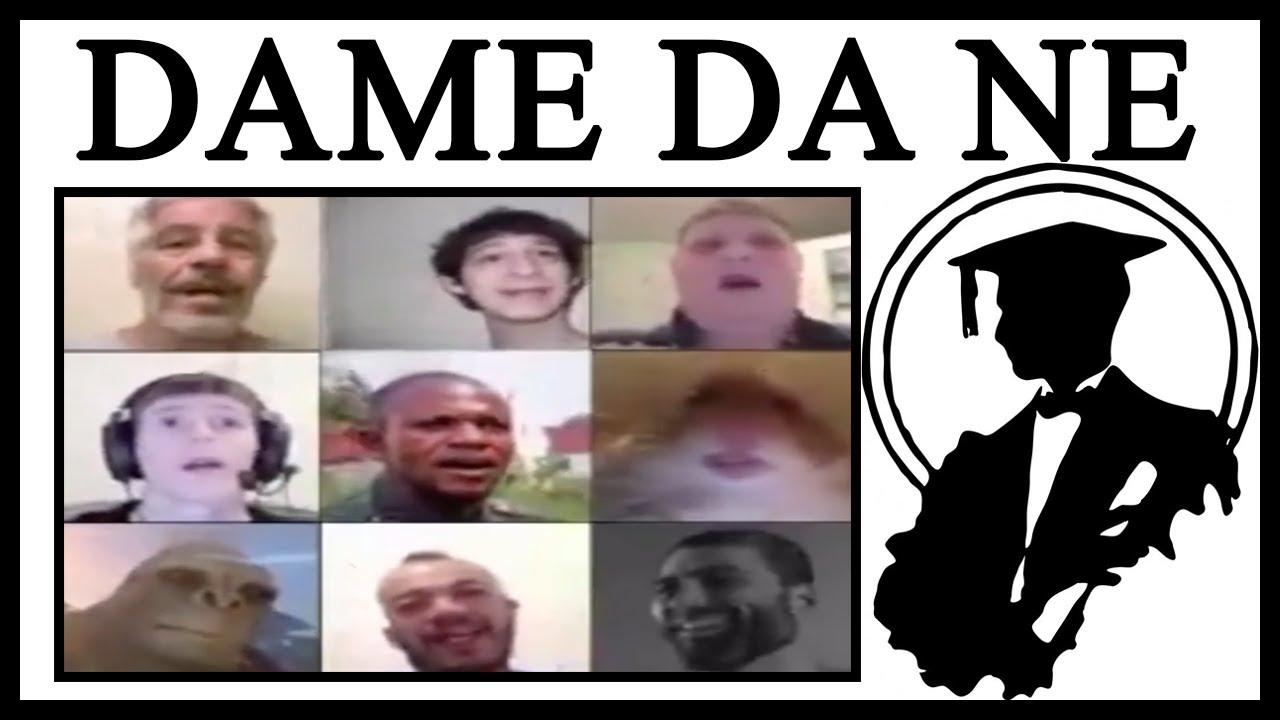 Why Is EVERYONE Singing Dame Da Ne/Baka Mitai?
