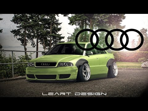 audi a4 b5 wide body virtual tuning photoshop youtube. Black Bedroom Furniture Sets. Home Design Ideas