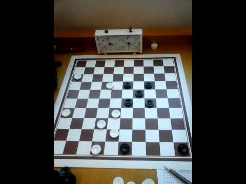 Luis Carvalho vs José Lino ( International Draughts)