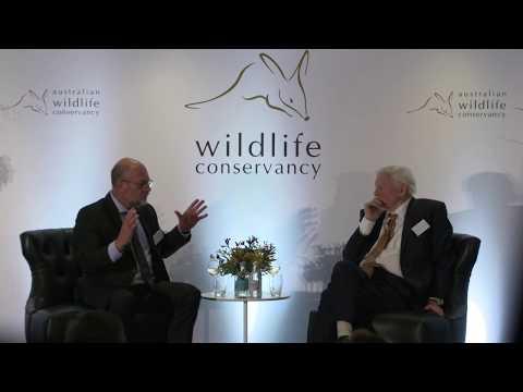 Sir David Attenborough and Professor Tim Flannery discuss Australia's unique wildlife
