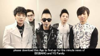 BIGBANG - Visit YG Family Homepage & New Application thumbnail