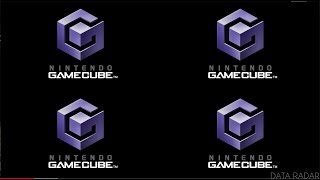 4 Gamecube Start Screens 4 Million Times in 4K Resolution