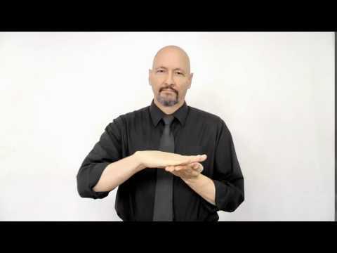Nice Clean American Sign Language