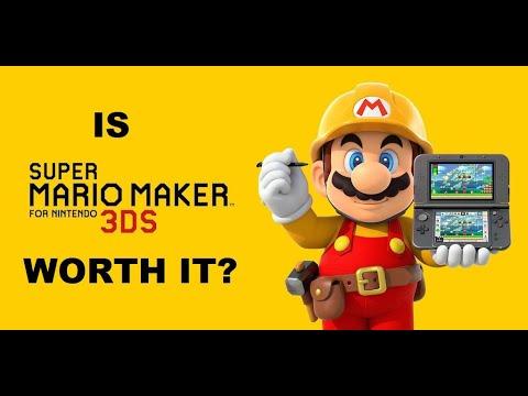 Download Is Super Mario Maker 3DS Worth It?