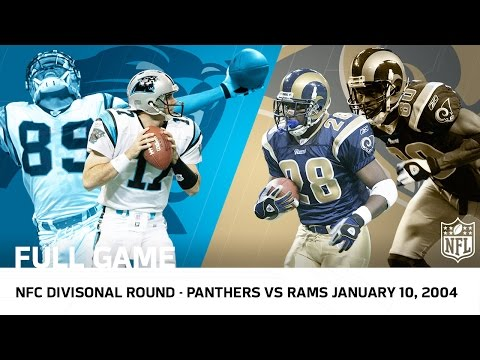 2003 Playoffs NFC Divisional Round: Panthers Upset Rams in 2OT (FULL GAME) | NFL
