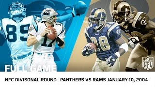 2003 Playoffs NFC Divisional Round: Panthers Upset Rams in 2OT | NFL Full Game