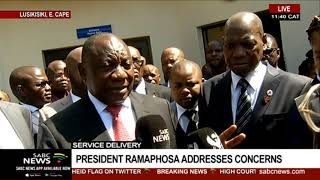 President Cyril Ramaphosa launches the New District Coordination Model
