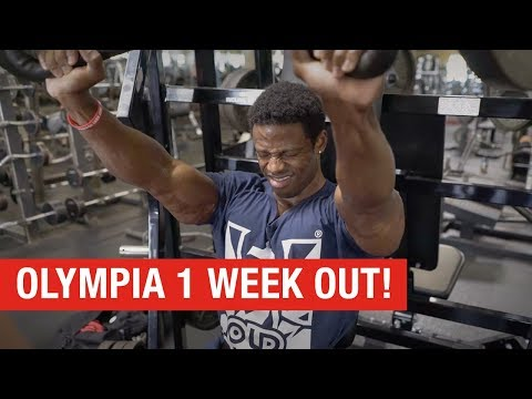 Breon Ansley 1 Week Out – Road to Olympia 2018