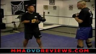 Chuck Liddell - MMA Focus Mitt and Thai Pad Training Drills