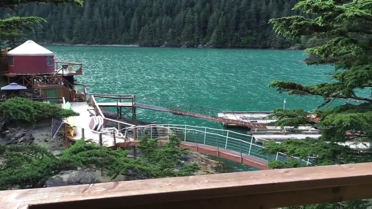 Orca Island Cabins In Resurrection Bay.