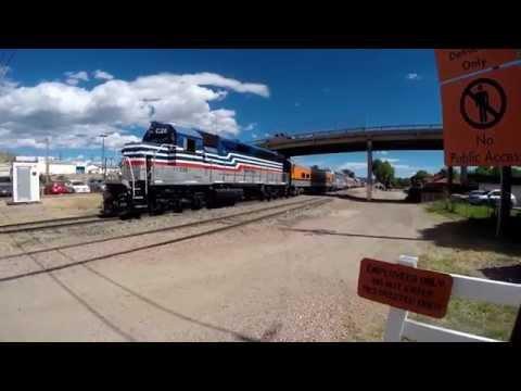 A Locomotive Cab Ride through Colorado's Royal Gorge Route
