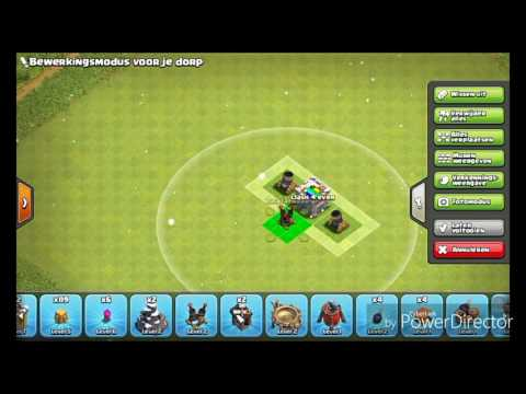 Clash of clans beste opstelling stadhuis level 6 farm basis