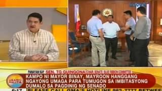 Junjun Binay at iba pang iniimbestigahan sa maanomalyang transaksyon sa Makati, posibleng ipaaresto