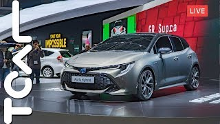[直播] 2018 日內瓦車展 | Toyota GR Supra Racing Concept / Auris - TCAR