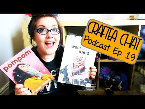 Craftea Chat Podcast Ep. 19: I'm Going To Knit ALL THE SHAWLS ¦ The Corner of Craft
