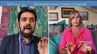 Myrta Merlino a Dino Giarrusso: