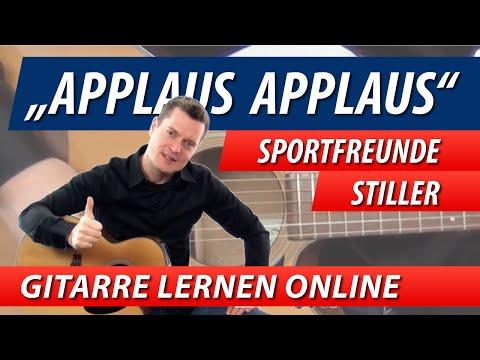 ★ APPLAUS APPLAUS ► Sportfreunde Stiller ► GITARRE LERNEN Leichte Songs