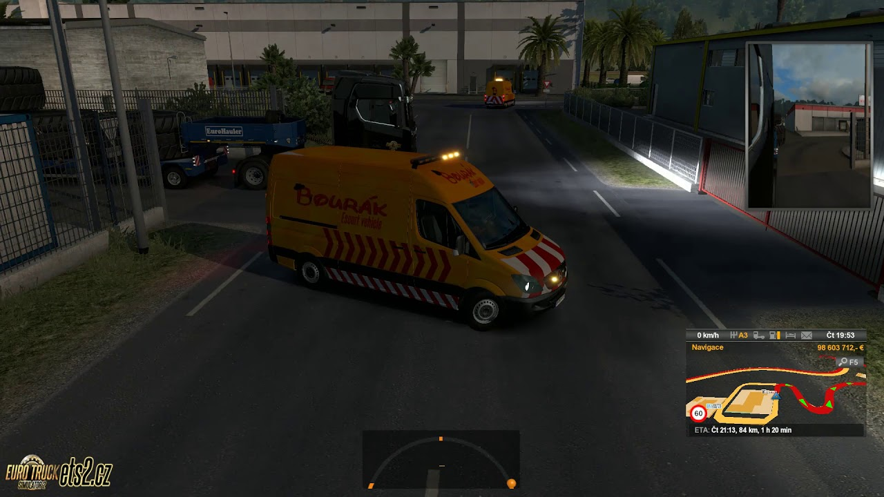 [ETS2] Bourakkkk Escort vehicle