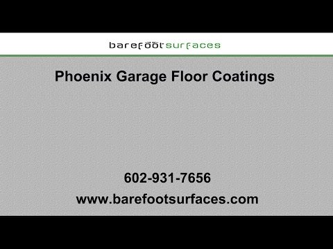 Phoenix Garage Floor Coatings | Barefoot Surfaces