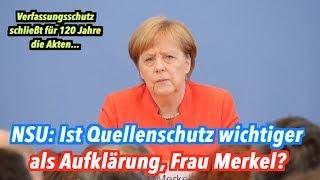 Merkels Aufklärungsversprechen: Wie zufrieden ist sie nach dem NSU-Prozess?
