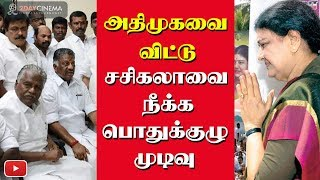 Sasikala to be kicked out of ADMK? - 2DAYCINEMA.COM