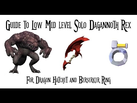 Guide to Solo Dagannoth Rex | Runescape 3 2017 | Post platform changes