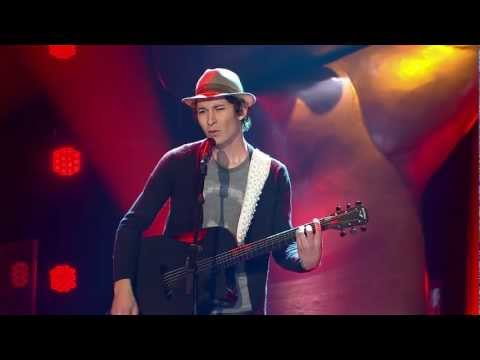 Patrick Rouiller - God Put A Smile Upon Your Face - Blind Auditions - The Voice of Switzerland 2013