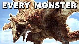 Every Monster In Monster Hunter World in 13 minutes