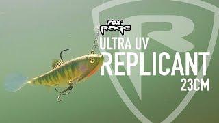 NSL1025 Fox Rage Replicant Wobble Fire Tiger UV 14cm