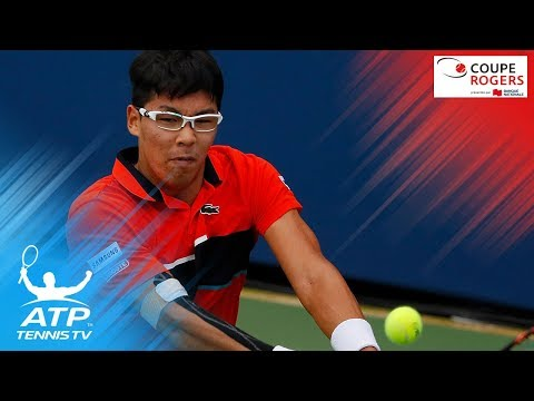 Hyeon Chung Upsets David Goffin - Coupe Rogers Montreal 2017