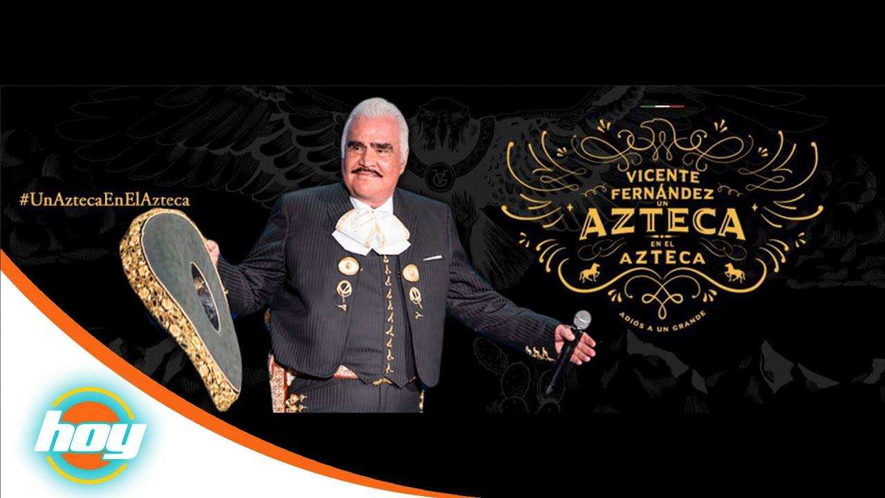 Todo Listo Para El U00faltimo Concierto De Vicente Fern U00e1ndez