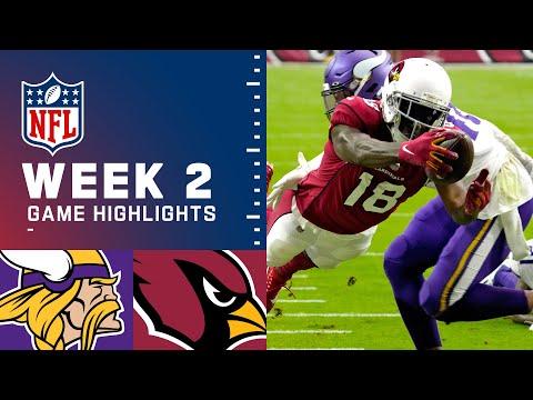 Vikings vs. Cardinals Week 2 Highlights   NFL 2021