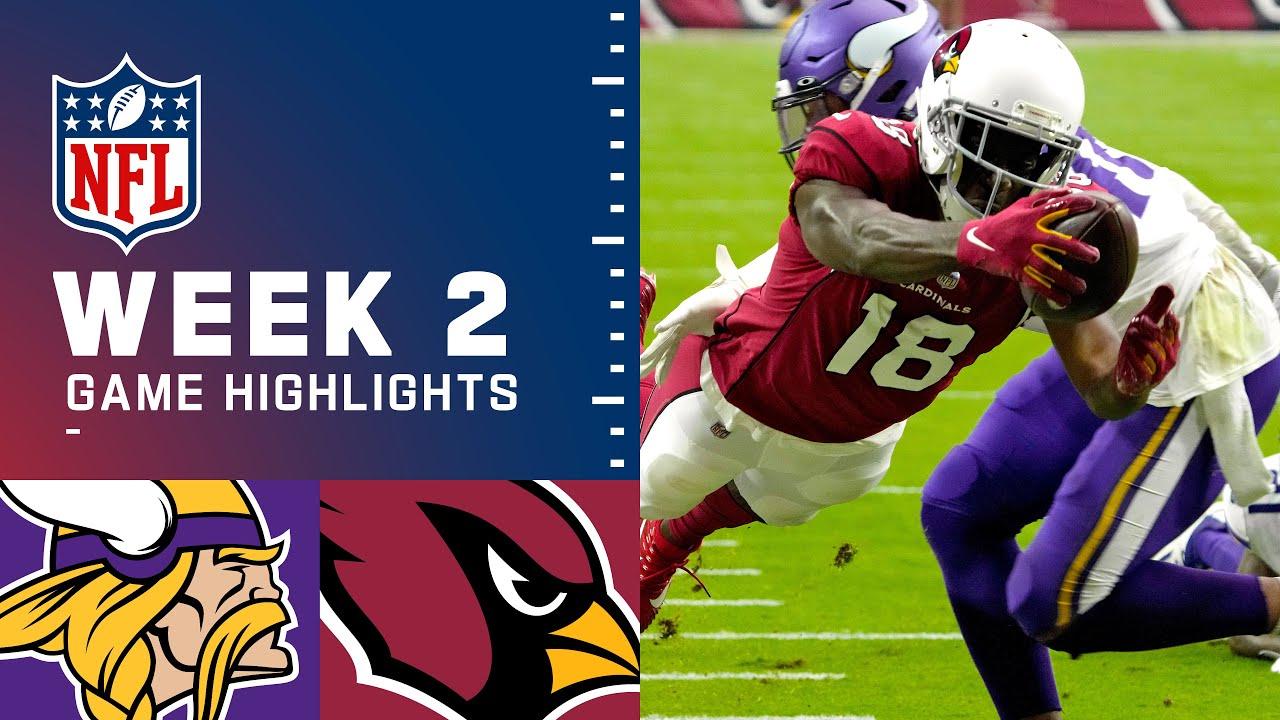 Download Vikings vs. Cardinals Week 2 Highlights | NFL 2021