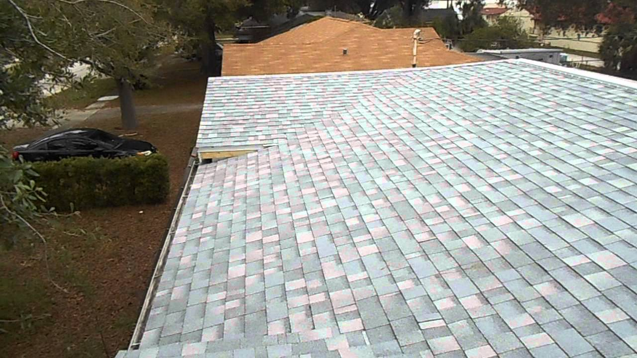 Silver Roof By Dunn Contracting In St Pete Fl Youtube