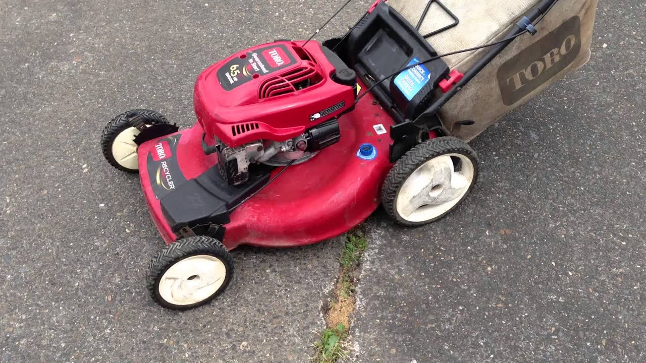 Toro Model 20072 22 Quot Self Propelled Lawnmower Mower