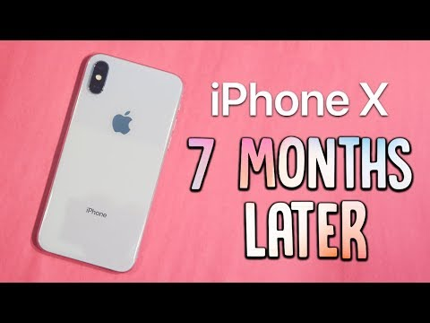 iPhone X: 7 Months Later Review! (Buy or Wait?) • iPhone 8 vs iPhone X