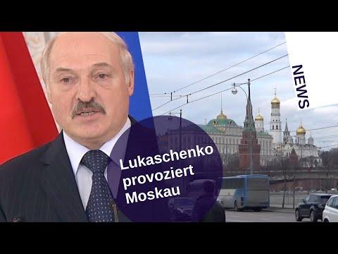 Lukaschenko provoziert Moskau
