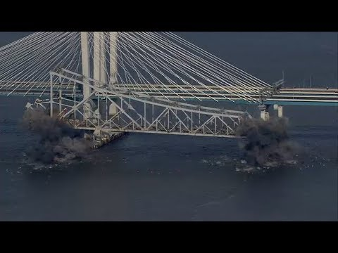 Watch the Tappan Zee Bridge demolition in less than a minute