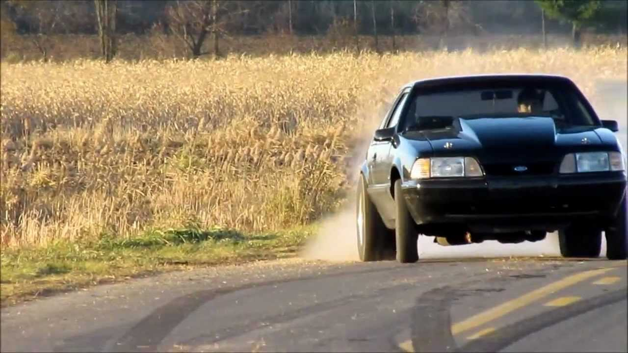 Mustang Lx 347 Burnout Youtube