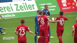 KICKERS OFFENBACH VS FC ASTORIA WALLDORF