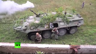 RAW: 18 nations take part in military drills in Ukraine