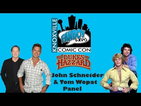 The Dukes of Hazzard (Tom Wopat & John Schneider) Panel 2016 Fanboy Expo
