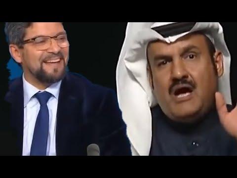 السعودي مبارك آل عاتي| يجلد اخونجي تونسي يهاجم السعودية