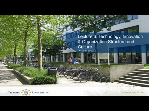 Business, Technology & Innovation - Lecture 6 - Organization Structure and Culture