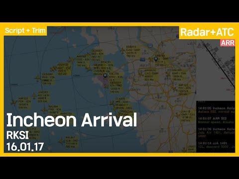 Incheon Intl Airport (RKSI,ICN) Arrival ATC Delta 160117
