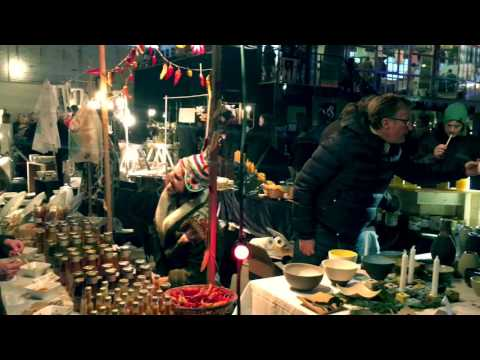 Berlin, Christmas market  - Chaos