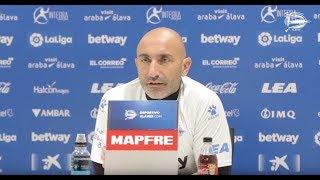 """Abelardo: """"El del Huesca es un partido muy importante"""""""