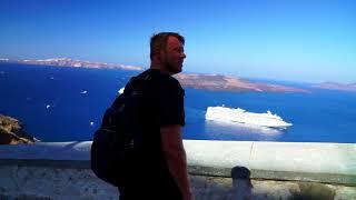 Norwegian Star VLOG # 4 Santorini Greece